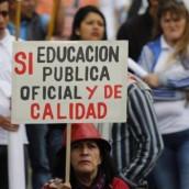 Se agota tiempo para evitar el paro de maestros