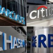 Cuatro bancos estadounidenses tendrán que pagar multas millonarias