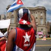 Bandera cubana puso fin a 54 años de hostilidad
