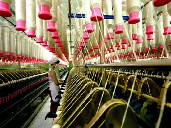 12,9% cayó la industria textil del país entre enero y mayo de 2015