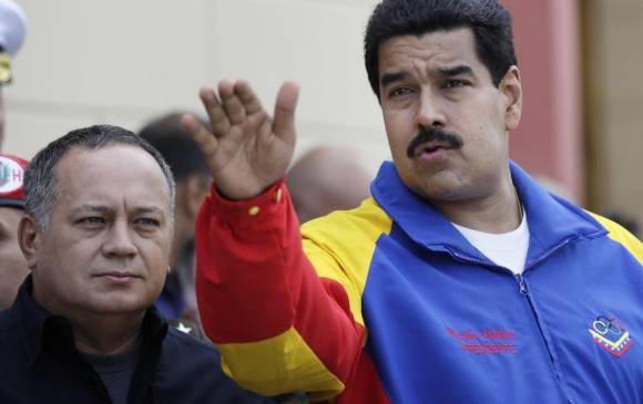 Diosdado Cabello afirma que Maduro está siendo atacado por E.U.