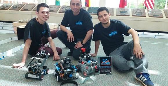 Robots colombianos ganan competencia universitaria en EE.UU.