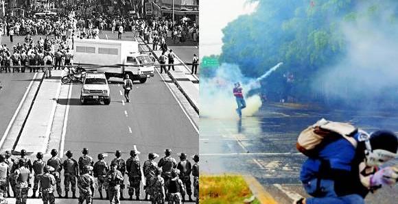 """Una Venezuela estancada recuerda el """"Carmonazo""""."""