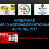 POLO NOTICIAS DE ANTIOQUIA – ABRIL DE 2017