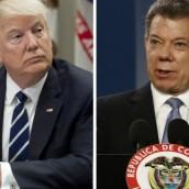 Colombia ante Trump: reunión histórica