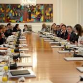 Todo el gabinete de Juan Manuel Santos renunció.