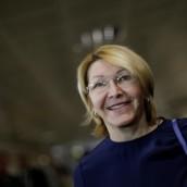 Exfiscal Luisa Ortega regresó a Colombia.