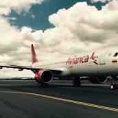 Avianca anunció adquisición de avión, en medio del paro.