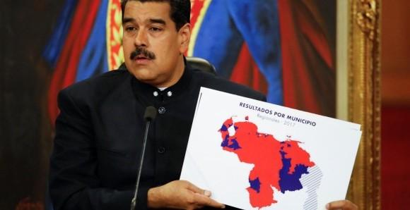 Bloque occidental no le cree a la victoria del chavismo.