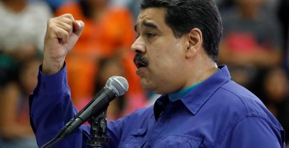 Maduro llama a la unión cívico militar armada en Venezuela.