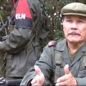 """""""El Eln no renuncia a la paz"""", dice alias Gabino."""