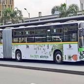 Así funciona el primer bus eléctrico de Metroplús.