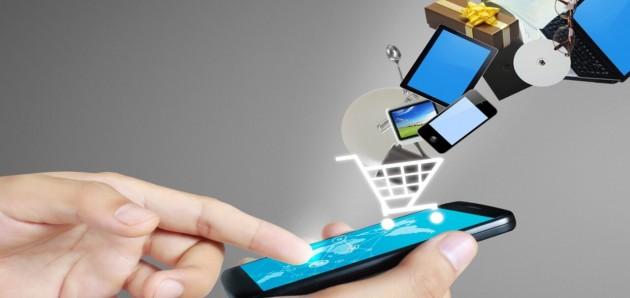 Móviles impulsan compras en línea.