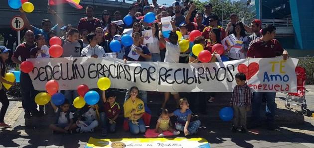 Venezolanos en Medellín: censo y registro.