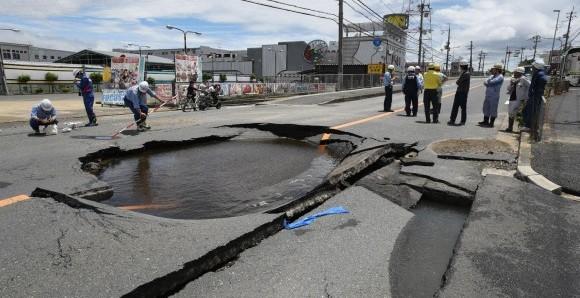 Un terremoto de 6,1 grados sacude el oeste de Japón.