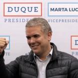 Duque, nuevo presidente de Colombia.