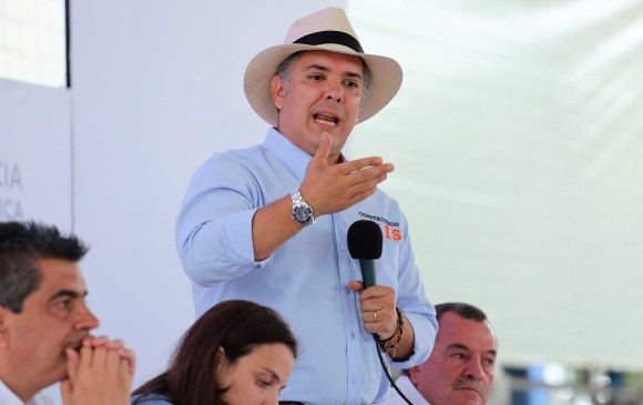 Duque expuso proyecto para reactivar la economía regional.