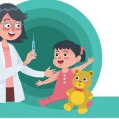 Vacune a sus hijos antes de entrar a la guardería.