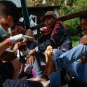 La Ruta Cúcuta-Bucaramanga y el peso de caminar con los pies rotos.