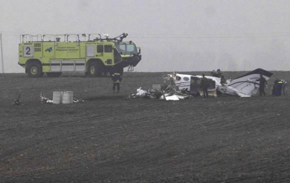 Avión privado se accidentó en Estados Unidos