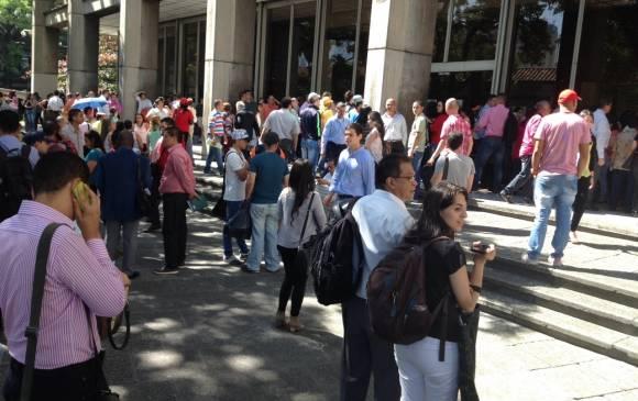 Falsa alarma de bomba hizo cerrar el Palacio de Justicia de Medellín