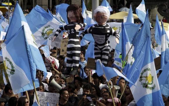 El gobierno de Otto Pérez está cerca de su caída en Guatemala