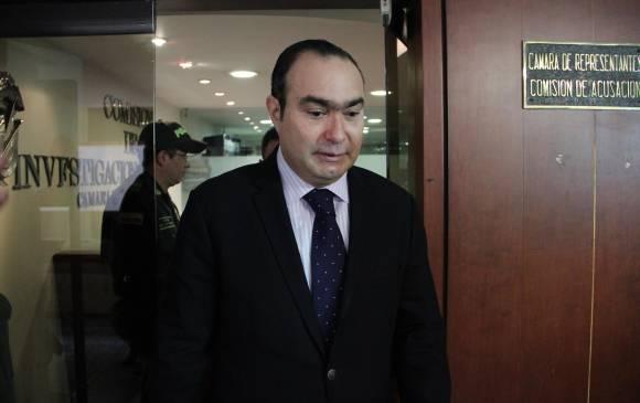 Jorge Pretelt, el primer magistrado acusado en plenaria de la Cámara
