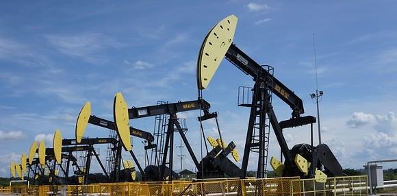 Así se comportó el precio del petróleo de referencia.
